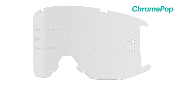 Smith - Squad XL MTB Clear Anti Fog MX Goggle Replacement Lens