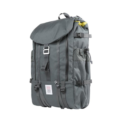 Topo Designs - Charcoal Unisex Mountain Backpack