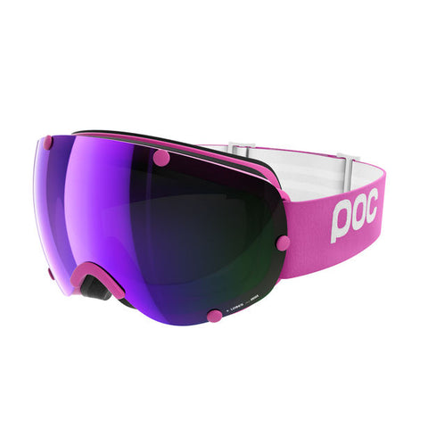 POC - Lobes Ethylene Pink Snow Goggles / Purple Mirror Lenses