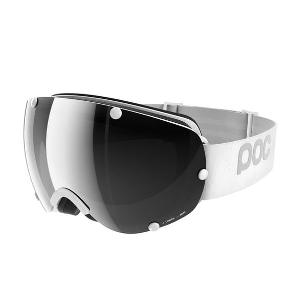 bfed9be3b21 POC Lobes Hydrogen White Snow Goggles   Black Mirror Lenses – New York Glass