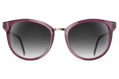 Neubau - Mia Blackberry / Graphite Sunglasses