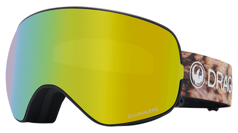 Dragon - X2s LL Lynxxx Snow Goggles / Gold Ion + Amber Lenses