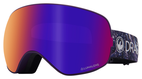 Dragon - X2s LL Lavender Snow Goggles / Purple Ion + Amber Lenses