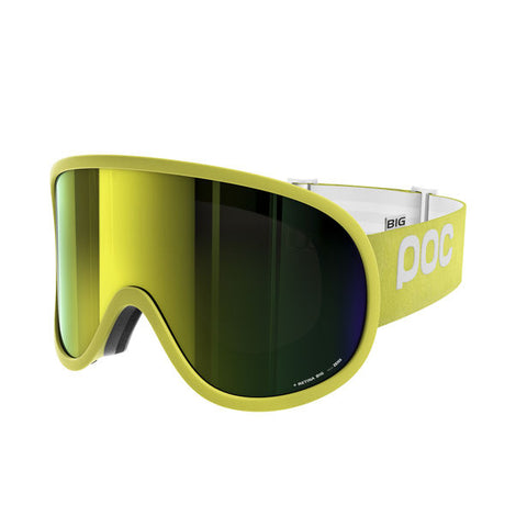 POC - Retina Big Hexane Yellow Snow Goggles / Yellow Mirror Lenses