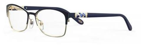 Emozioni - 4389 56mm Blue Gold Eyeglasses / Demo Lenses
