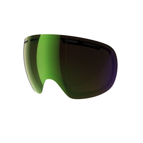POC - Fovea Persimmon + Green Mirror Snow Goggle Replacement Lens
