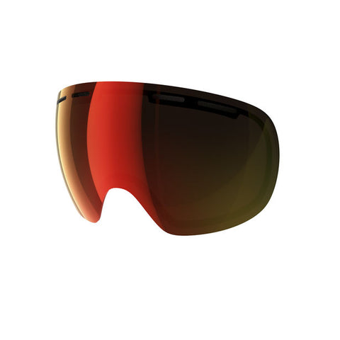 POC - Fovea Persimmon + Red Mirror Snow Goggle Replacement Lens