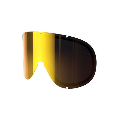 POC - Retina Big Pink + Gold Mirror Snow Goggle Replacement Lens