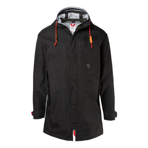 Topo Designs - Men's Tech Trench Black Hoodie