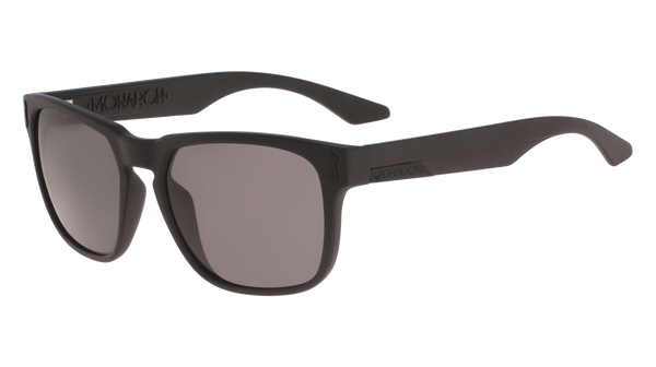 Dragon - Monarch LL 55mm Matte Black Sunglasses / Lumalens Smoke Lenses