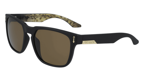 Dragon - Monarch LL 55mm Matte Black Lynxx Sunglasses / Lumalens Brown Lenses