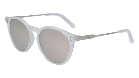 Dragon - Hype LL 51mm Milky Crystal Sunglasses / Lumalens Silver Ion Lenses