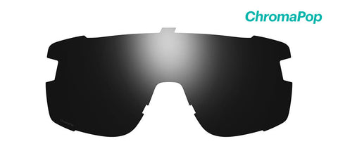 Smith - Wildcat Chromapop Black Sunglass Replacement Lenses