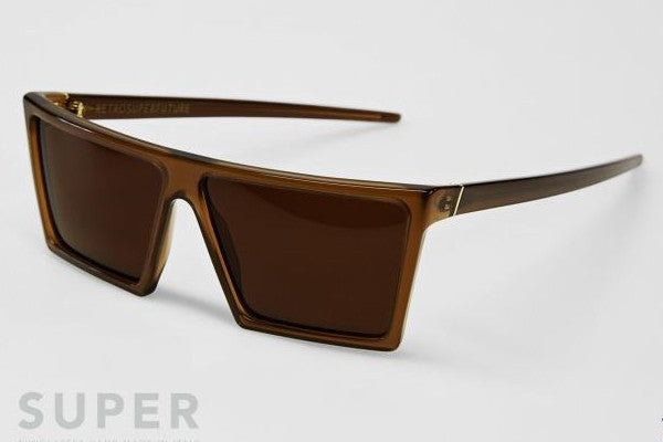 Super - W Dark Brown Sunglasses