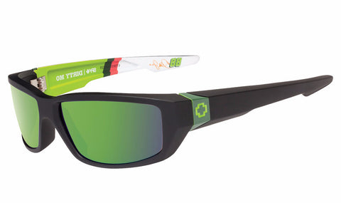 Spy - Dirty Mo Diet MTN Dew Livery Sunglasses, Happy Bronze W/ Green Spectra Lenses