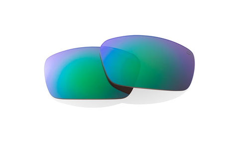 Spy - Dirk Happy Bronze Polarized + Green Spectra Sunglass Replacement Lenses