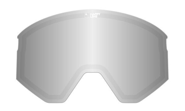 Spy - Ace Happy Gray Green + Silver Snow Goggle Replacement Lens