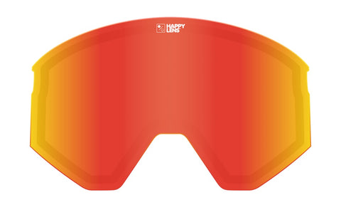 Spy - Ace Happy Gray Green + Red Spectra Snow Goggle Replacement Lens