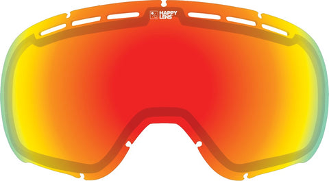 Spy - Marshall Happy Gray Green + Red Spectra Snow Goggle Replacement Lens