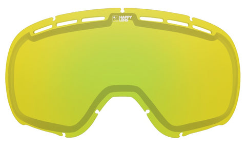 Spy - Marshall Happy Yellow + Lucid Green Snow Goggle Replacement Lens