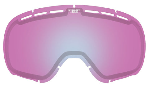 Spy - Marshall Happy Pink + Lucid Blue Snow Goggle Replacement Lens