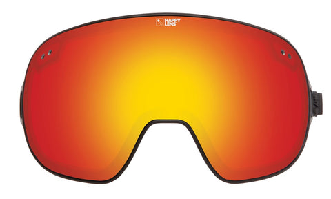 Spy - Bravo Happy Gray Green + Red Spectra Snow Goggle Replacement Lens