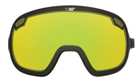 Spy - Bravo Happy Yellow + Lucid Green Snow Goggle Replacement Lens