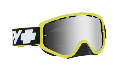 Spy - Woot Race Slice Green MX Goggles / Smoke + Silver Spectra + Clear Lenses