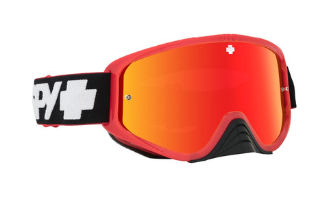 Spy - Woot Race Slice Red MX Goggles / Smoke + Red Spectra + Clear Lenses