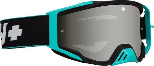 Spy - Foundation Camo Teal MX Goggles / Smoke + Silver Spectra HD + Clear Lenses