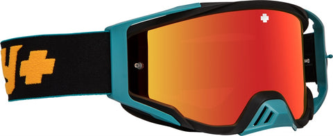 Spy - Foundation Camo Orange MX Goggles / Smoke + Silver Spectra HD + Clear Lenses