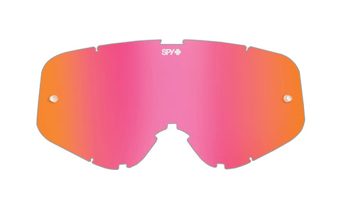 Spy - Woot Woot Race Smoke with Pink Spectra MX Goggle Replacement Lens