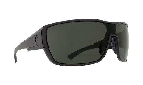 7b19c9381bf Spy - Tron 2 Matte Black Sunglasses   Happy Gray Green Lenses