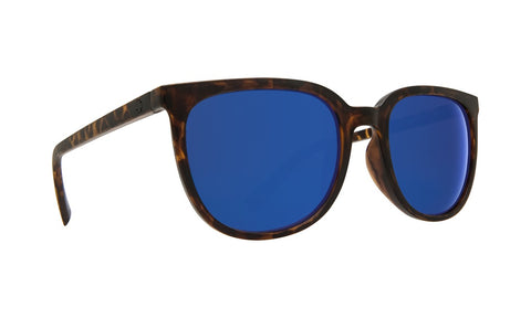 Spy - Fizz Matte Blonde Tortoise Sunglasses / Gray + Dark Blue Spectra Lenses