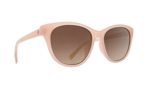 Spy - Spritzer Translucent Blush Sunglasses / Bronze Fade Lenses