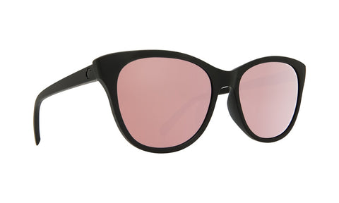 Spy - Spritzer Matte Black Sunglasses / Bronze + Rose Quartz Spectra Lenses