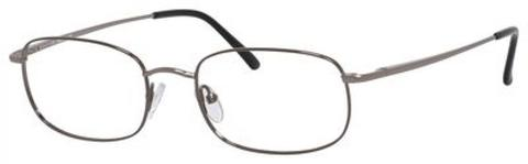 Denim Eyewear - 104 53mm Gunmetal Eyeglasses / Demo Lenses