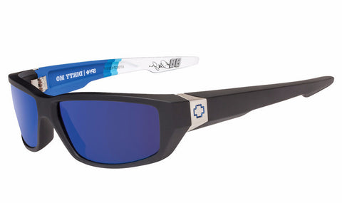 Spy - Dirty Mo Nationwide Livery Sunglasses, Happy Bronze W/ Dark Blue Spectra Lenses