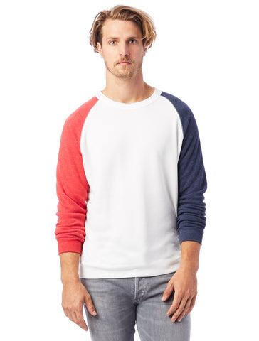 Alternative Apparel - Champ Eco-Fleece Usa Eco Ivory Eco True Navy Eco True Red Sweatshirt