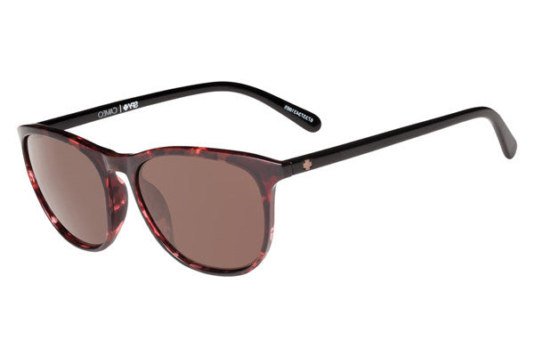 Spy - Cameo Alana Red Tort/Black Sunglasses, Happy Bronze Lenses