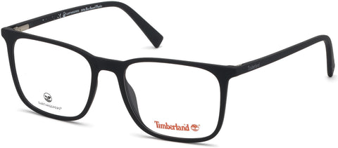 Timberland - TB1608 53mm Matte Black Eyeglasses / Demo Lenses