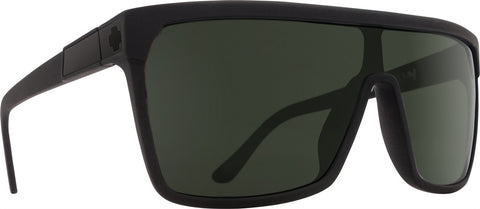 Spy - Flynn Soft Matte Black Sunglasses / Happy Gray Green Lenses