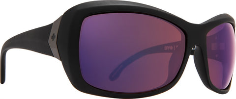 Spy - Farrah Matte Black Sunglasses / Happy Rose Polarized with Midnight Spectra Lenses