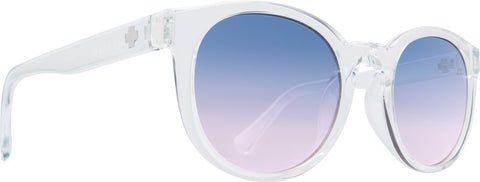 Spy - Hi Fi Clear Sunglasses / Purple Sunset Fade Lenses