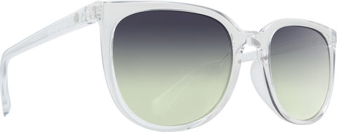 Spy - Fizz Clear Sunglasses / Green Sunset Fade Lenses