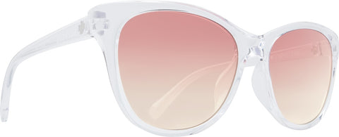 Spy - Spritzer Clear Sunglasses / Pink Sunset Fade Lenses