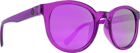 Spy - Hi Fi Amethyst Sunglasses / Gray + Purple Mirror Lenses