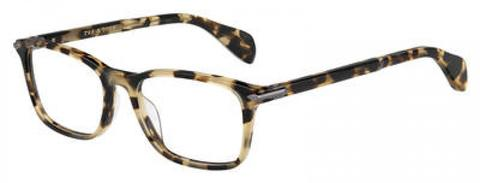 Rag & Bone - Rnb 7016 Yellow Red Havana Eyeglasses / Demo Lenses