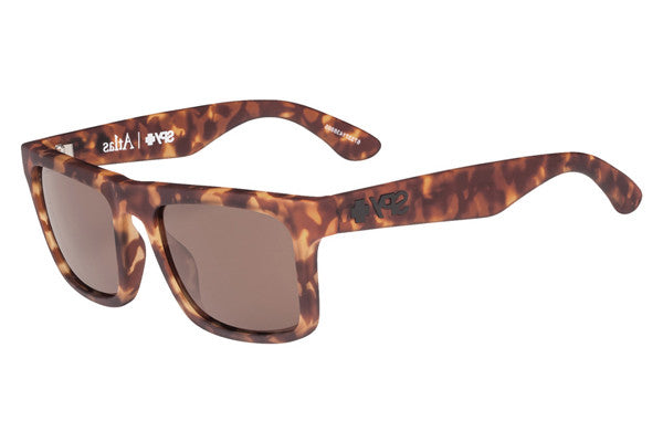 Spy - Atlas Soft Matte Camo Tort Sunglasses, Happy Bronze Lenses