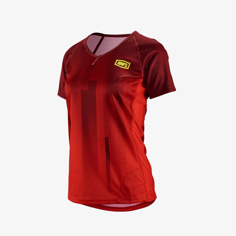 100 Percent - Airmatic Red Women's Jersey